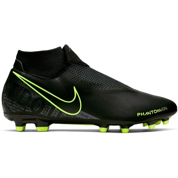 Nike Phantom Vision Academy Dynamic Fit MG  BLACK/BLACK-VOLT