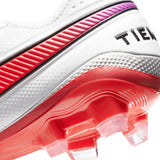 Nike Tiempo Legend 8 Elite FG Soccer Cleats Flash Crimson