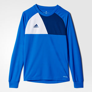adidas Kids Youth Soccer assita 17 Goalkeeper Jersey Blue