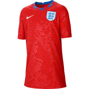 Nike England Youth Pre-Match Jersey 2020