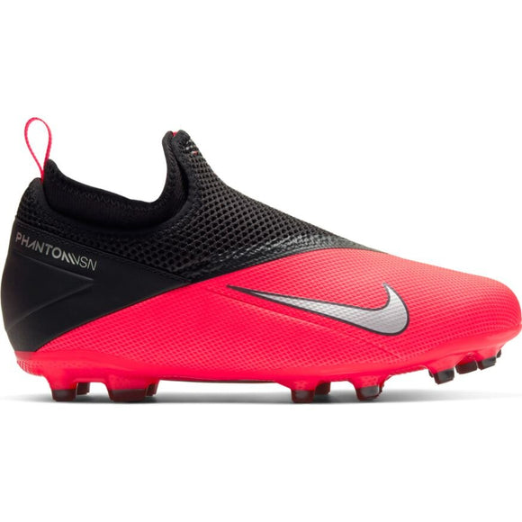 NIKE JR. PHANTOM VISION 2 ACADEMY DYNAMIC FIT MG LITTLE/BIG KIDS' MULTI-GROUND SOCCER CLEAT CD4059