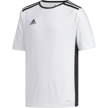 adidas Youth Entrada Jersey White/Black