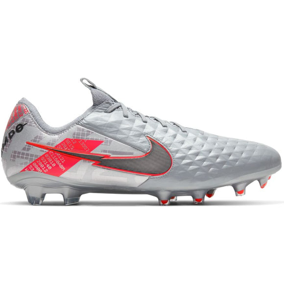 Nike Tiempo Legend 8 Elite FG Mtlc Bomber Grey/Black-Particle Grey
