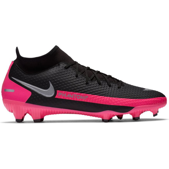 Nike Phantom GT Academy Dynamic Fit MG Black/Metallic Silver-Pink Blast