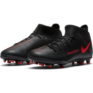 Nike Jr. Phantom GT Club Dynamic Fit MG Black/Red