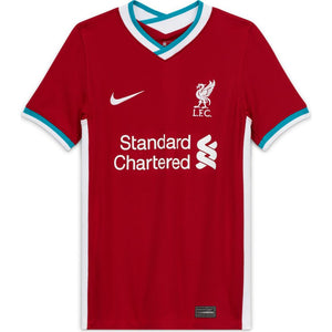 Nike Liverpool FC 2020/21 Stadium Home Big Kids' Soccer Jersey