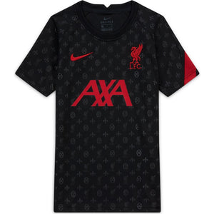Nike Liverpool FC Big Kids' Pre-Match Short-Sleeve Soccer Top