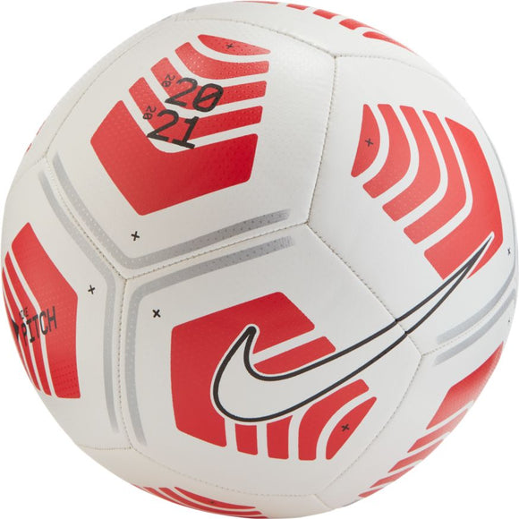 Nike Pitch Soccer Ball Red/White