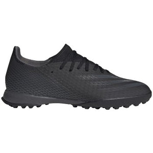 adidas X GHOSTED.3 TF Men's Soccer Shoes Black/Grey/Black