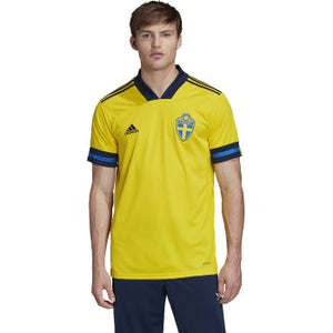 adidas 2020-21 Sweden Home Jersey