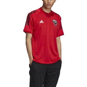 adidas D.C. United Training Jersey 2020 Red/Black