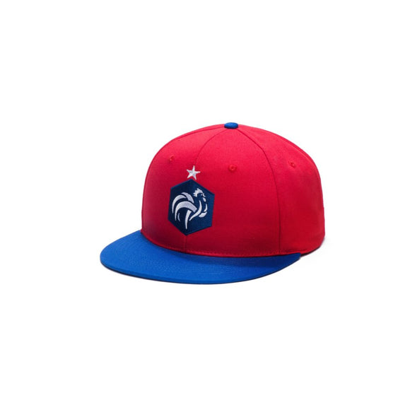 France Football Federation – Flat Peak Baseball Hat (Fi Collection)