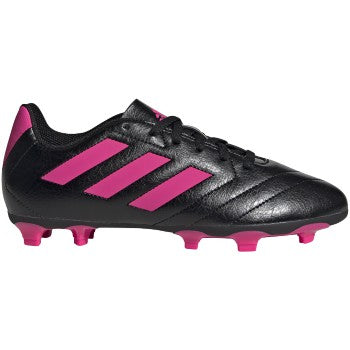adidas Goletto VII FG Junior Kids Soccer Cleats Black/Pink