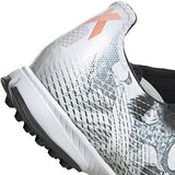 adidas X GHOSTED.3 TF Men's Soccer Shoes White/Orange Tsubasa