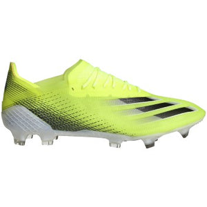adidas X Ghosted.1 FG Soccer Cleats Solar Yellow/Black