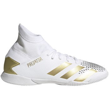 adidas Predator 20.3 IN J White/Gold/Black