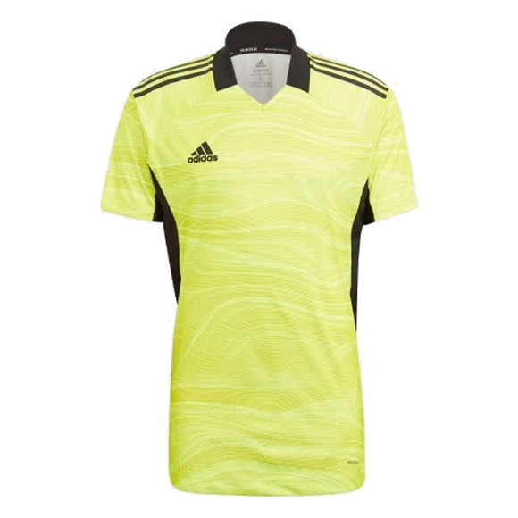 adidas Condivo 21 Acid Yellow GK Jersey Short Sleeve
