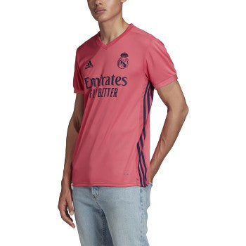 adidas Real Madrid Men's 2020/21 Away Jersey Spring Pink