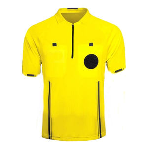 KwikGoal Yellow Referee Jersey Short Sleeve