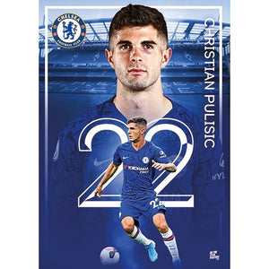 Pulisic– Chelsea 2020 Action Poster