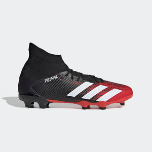 adidas Predator 20.3 FG Men's Soccer Cleats Black/Red/White