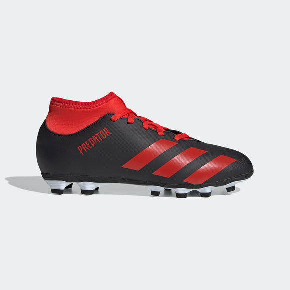 adidas Predator 20.4 S FxG Junior Kids Soccer Cleats Black/Red