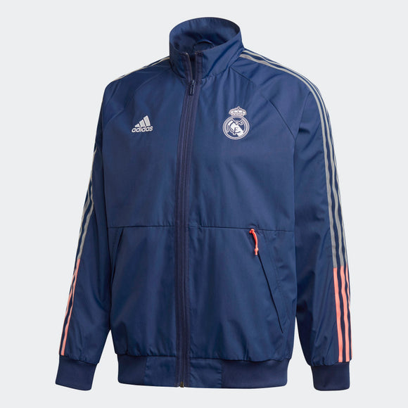 adidas 20/21 Real Madrid Anthem Jacket Mens
