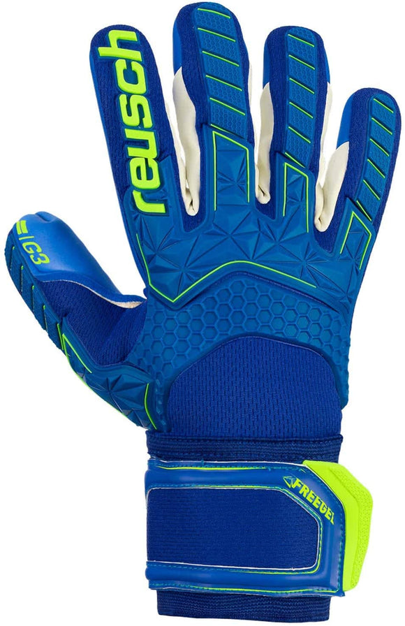 Reusch Attrakt Freegel G3 Finger Support Goalkeeper Gloves