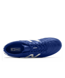 New Balance 442 Team Soccer Cleats Wide EE Royal White