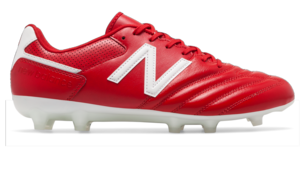 New Balance 442 Team Soccer Cleats Wide EE Red White