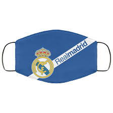 Real Madrid Face Mask Reusable