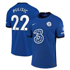 Nike Chelsea FC 2020/21 Stadium Home Big Kids' Soccer Jersey Pulisic #10
