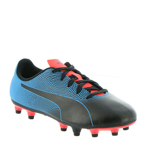 Puma Spirit II FG Jr Youth Soccer Cleat Blue Black