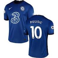 Nike Men's Chelsea FC 2020/21 Stadium Home Soccer Jersey Pulisic #10