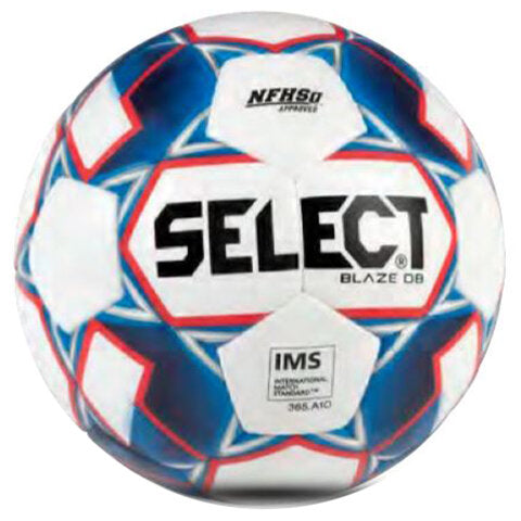 Select Blaze DB Dual Bonded Soccer Ball Blue/Red/White