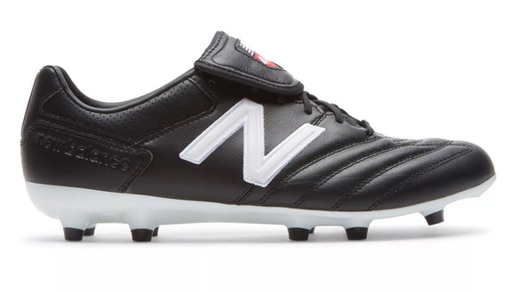 New Balance 442 Pro V1 FG Black/White Adult Soccer Cleats Wide EE