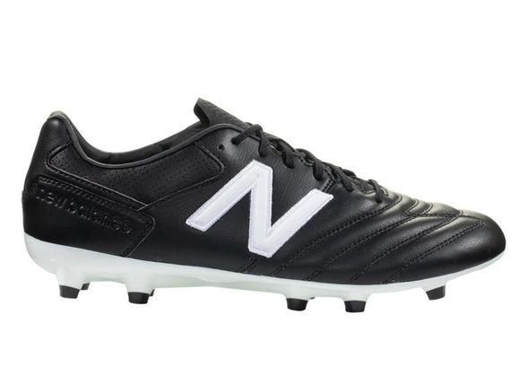 New Balance 442 Pro FG Wide Soccer Cleats Black/White