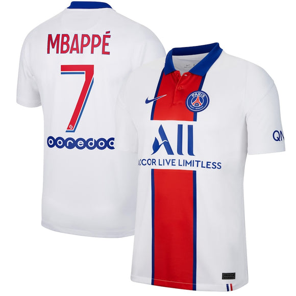 Nike Paris Saint-Germain 2020/21 Men's Stadium Away jersey Mbappe #7