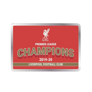 Liverpool – 2019-20 Premier League Champions Pin