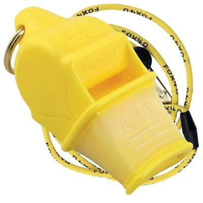 Fox 40 Sonic Blast CMG Yellow with Lanyard