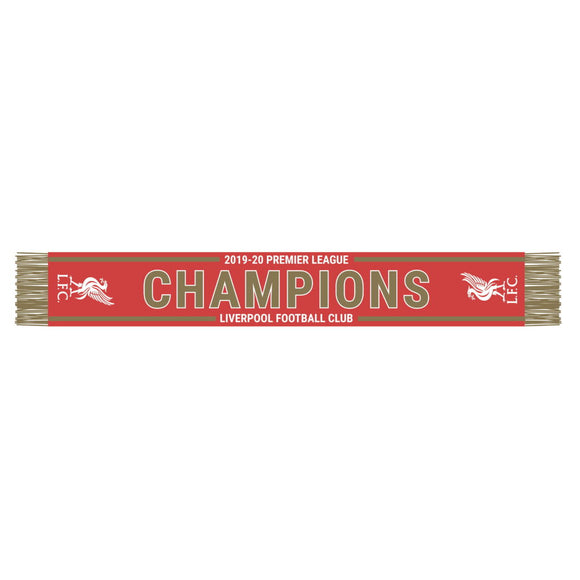 Liverpool – 2019-20 Premier League Champions Scarf