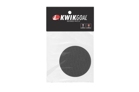 KwikGoal Referee Velcro Sticker Round Patch