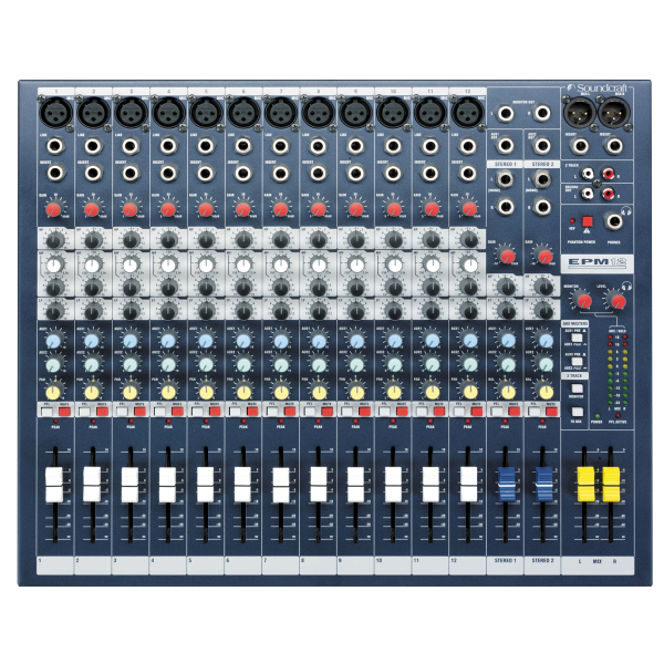 Soundcraft EPM 12 Analog Mixer