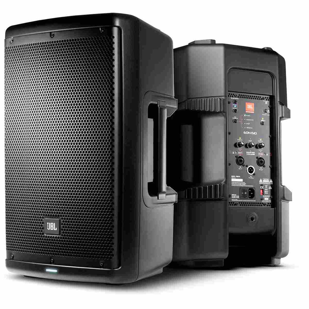"JBL EON610 Two-Way 10"" 1000W Powered Loudspeaker"