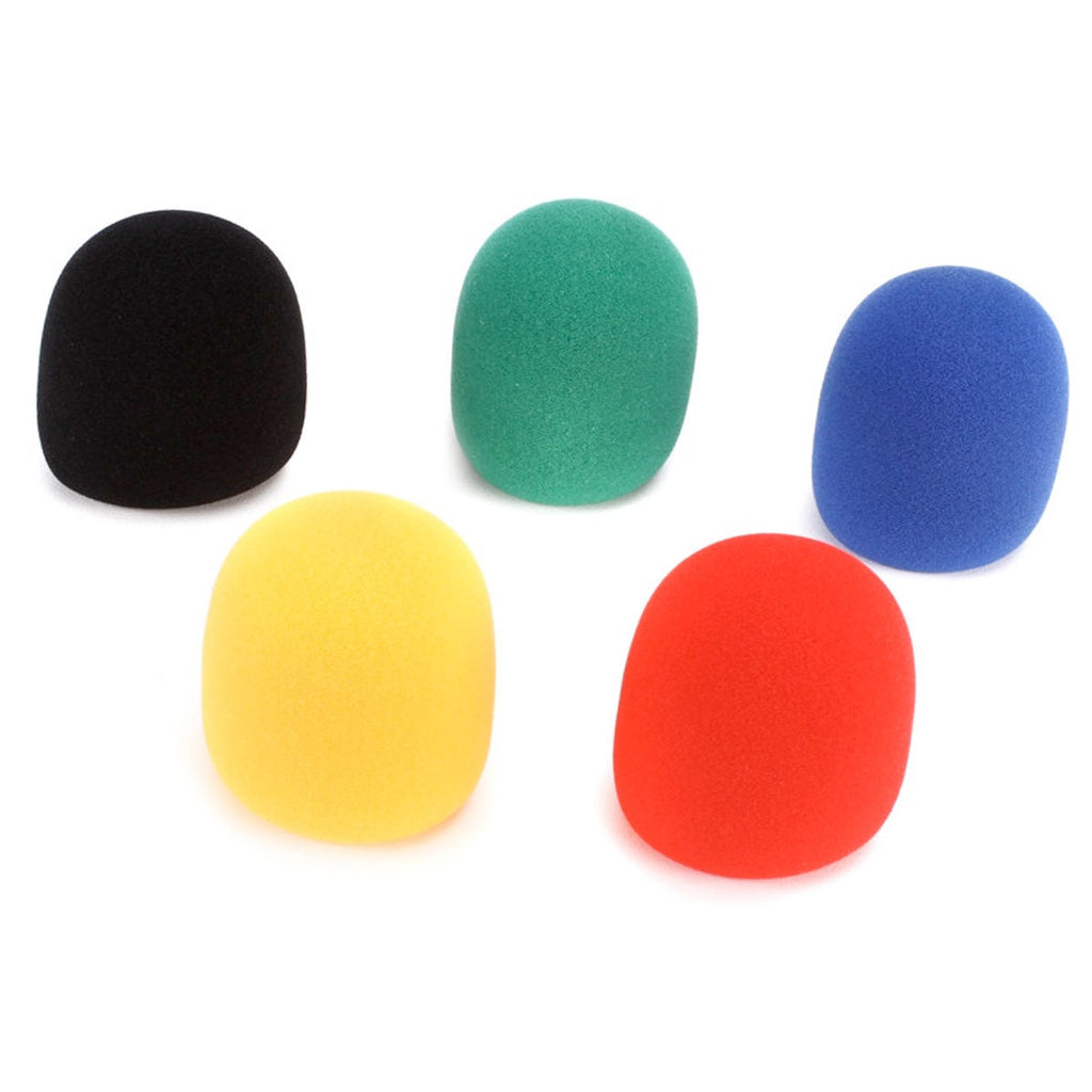 On-Stage ASWS58C5 5-pack Multi-color Windscreens