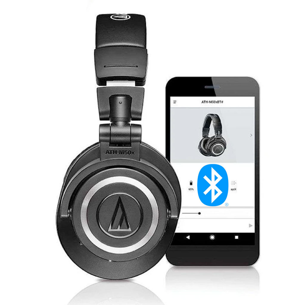 Audio-Technica ATH-M50xBT Bluetooth Headphones