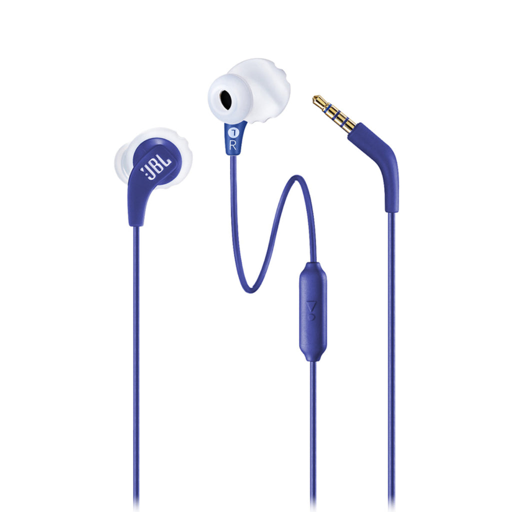 JBL Endurance Run ENDURRUNBLUAM In ear, Wired Headphone With Microphone