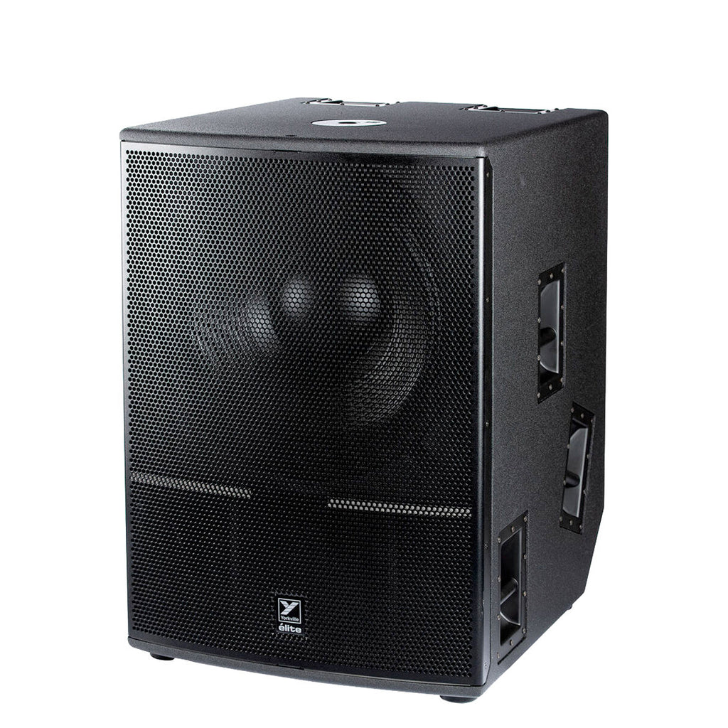 "Yorkville ES21P Elite Series 21"" 2400W Powered Subwoofer with Bluetooth Control"