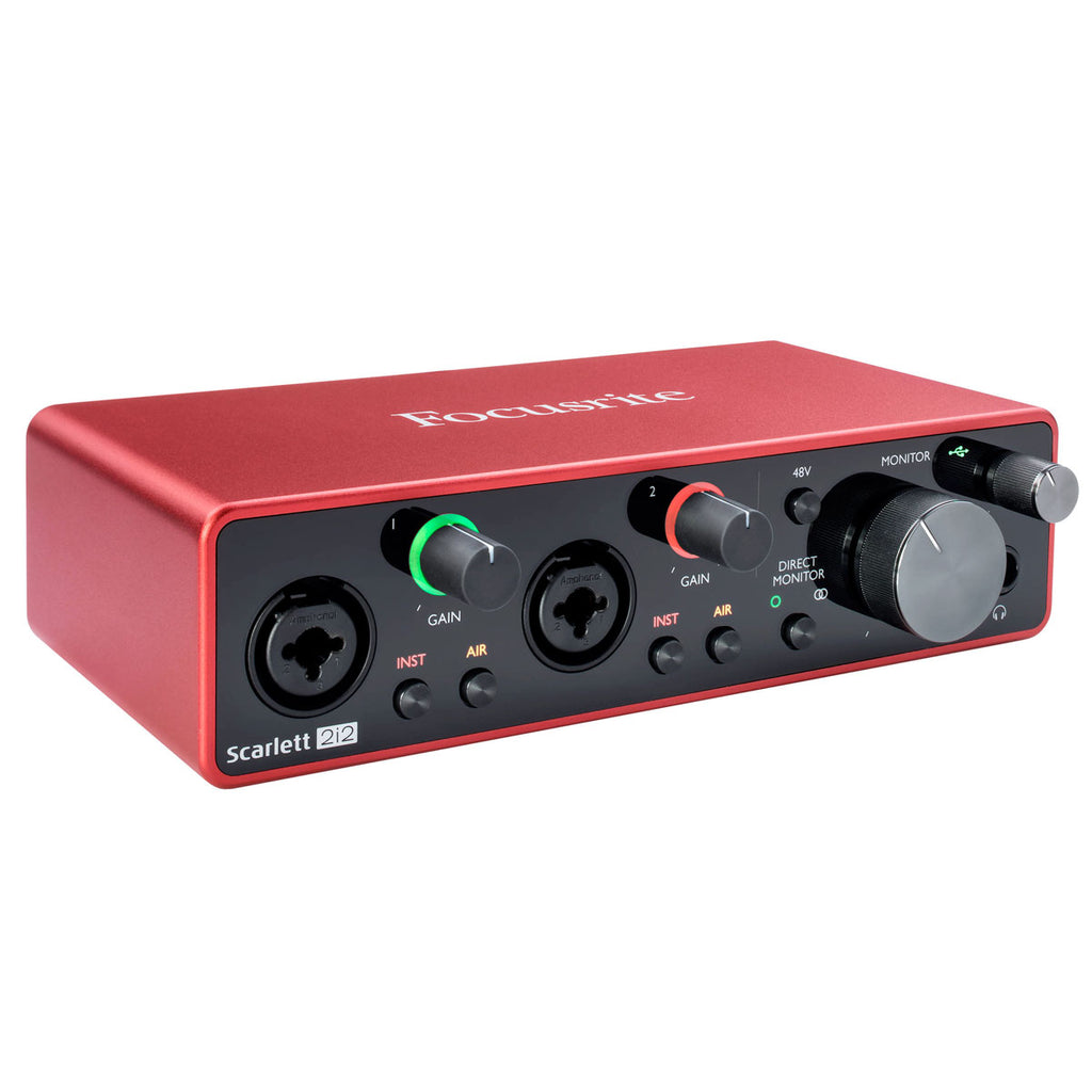 Focusrite Scarlett 2i2 Audio Interface (3rd Gen)