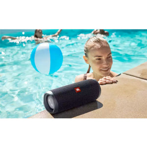 JBL Flip 5 Waterproof Bluetooth Speaker (Black)